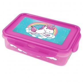 LunchBox Einhorn mit 4 Clips 1.100 ml