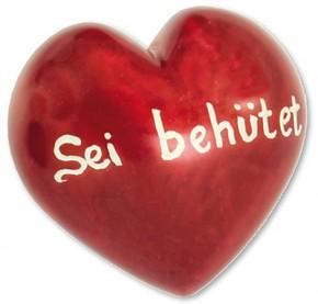 Sei behütet Romantik-Herz Deko-Handschmeichler