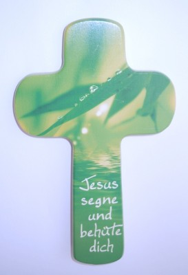 Kinderkreuz Jesus segne und behüte dich