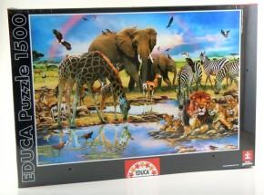 Wiege des Lebens Puzzle 1500 Tierpuzzle