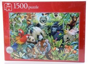 Dschungeltiere Puzzle 1500 T. Tierpuzzle