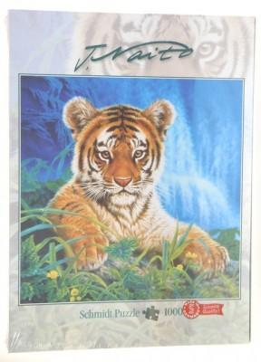 Naito Kleiner Tiger Puzzle 1000 Tierpuzzle