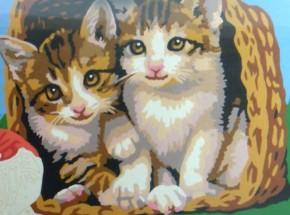 Ravensburger MnZ Kätzchen im Korb 18 x 24 B-Ware OVP