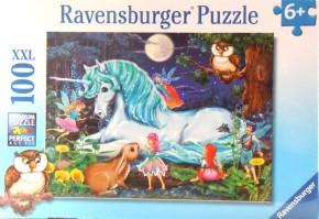 Ravensburger Puzzle Im Zauberwald 100