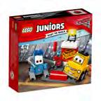 10732 LEGO® Juniors CARS Guido und Luigis Pit Stopp