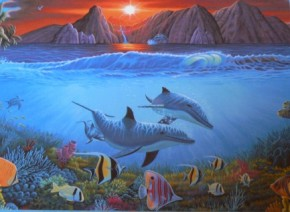 Puzzle 500 Freunde der See Unterwasserwelt B-Ware ungeöffnete OVP