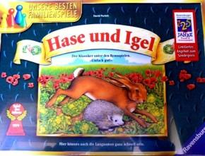 Hase und Igel Ravensburger Brettspiel