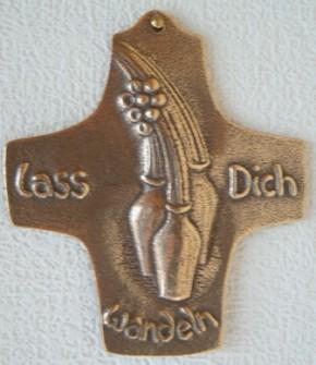 Bronzekreuz Lass Dich wandeln